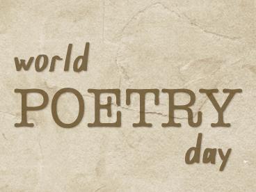 Celebrate Poetry!