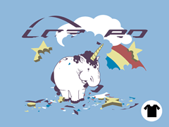 Fat Unicorn Loaded Remix Tee