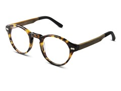 Robertson Optical Frame, Olive Oak