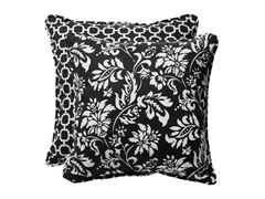 "In/Outdoor 18.5"" Pillows-Hockley