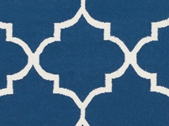 Blue Hand Woven Rug (5-Sizes)