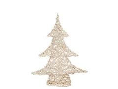 "20"" White Champagne Sparkle Vine Tree"