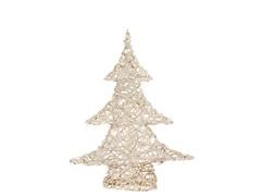 "20"" White Champagne Sparkle Vine Tree"