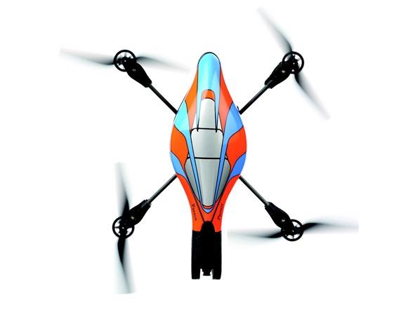 Parrot AR Drone 1 0 - Orange/Blue