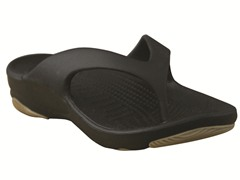 Youth Flip Flop Black/Tan