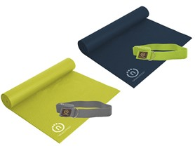 Eco-Smart Yoga Mat & Sling Strap - 2 Colors