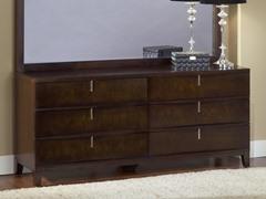 Legend Wood 6 Drawer Dresser