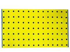 450GSM 36x70 Yellow Mini Dot Towel