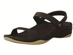 Youth 3-Strap Sandal - Black/Tan
