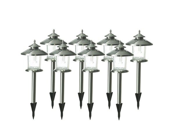 norton solar light set stainless 8