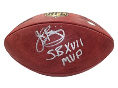 John Riggins Signed Duke Football w/ SB