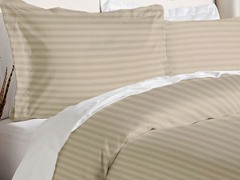 Duvet Cover Set-Taupe-2 Sizes