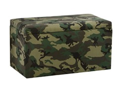 Storage Bench Camo Green