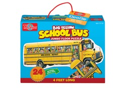 School Bus Jumbo Floor Puzzle