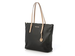 Michael Kors Jet Set Large N/S Top Zip Tote, Blk