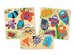 P'Kolino Bug Set - 3 Puzzles