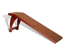 Bedside Ramp - Wood
