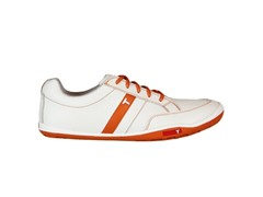 TRUE Linkswear Men's Golf Shoe-Burnt Org