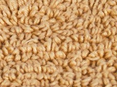 Reversible Cotton Rug -Wheat: Multiple Sizes