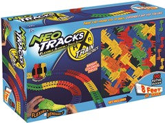 96-Piece Train Track Expansion Pack