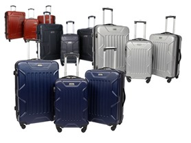 Coleman 3-Piece Luggage Sets - 4 Colors