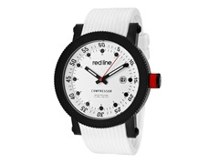 Red Line 18000-02-BB-WHT-ST Men's Compressor White