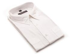 Oleg Cassini Men's Dress Shirt, White XXXL
