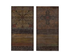 Lavergne 2pc Wall Panel Set