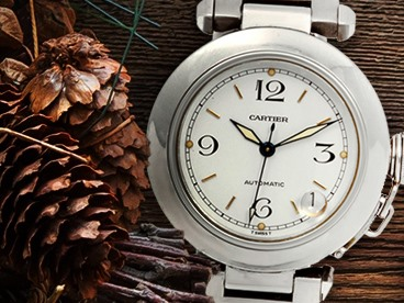 Refurbished Cartier and Rolex Watches
