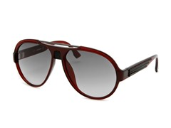 Women's Sunglasses, Burgundy/Gray Gradient