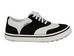 Preston Golf Shoes - Black/White