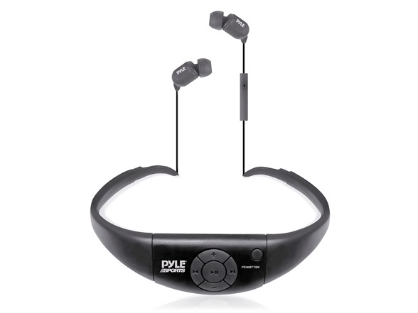 waterproof bluetooth in ear headphones sports outdoors. Black Bedroom Furniture Sets. Home Design Ideas