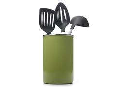 Metal Utensil Holder - Lime