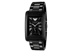 Men's Ceramic Bracelet Rectangle Dial
