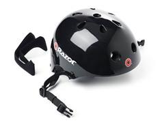 Razor V11 Helmet, Gloss Black