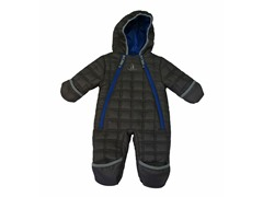 Charcoal Boys Quilted Puffer (9M-4T)