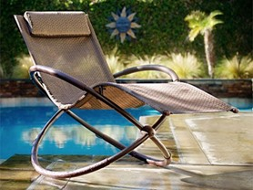 RST Brands Orbital Rocking Lounger