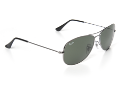 Aviator Sunglasses - Gunmetal