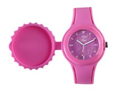 Pink Silicone Watch