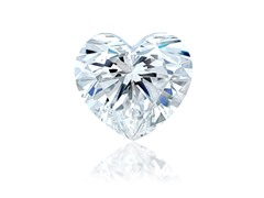 Heart Diamond 1.00 ct G VVS2 with GIA report