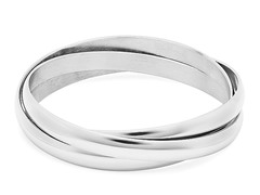 Stainless Steel Set of 3 Bangles