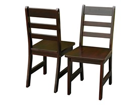 Children's Chairs 2-Pc Set - 3 Colors