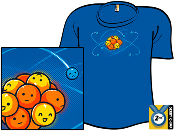 Orbital Model of the Carbon Atom - Shirt.Woot