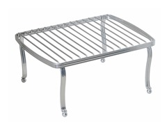 InterDesign York Lyra Chrome/Silver Rectangular Shelf