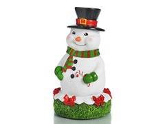 Snowman Statue, White