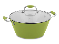 Fagor 3 Quart Soup Pot LemonLime