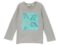 Embroidery Stitched Fins LS Tee (2T-8Y)