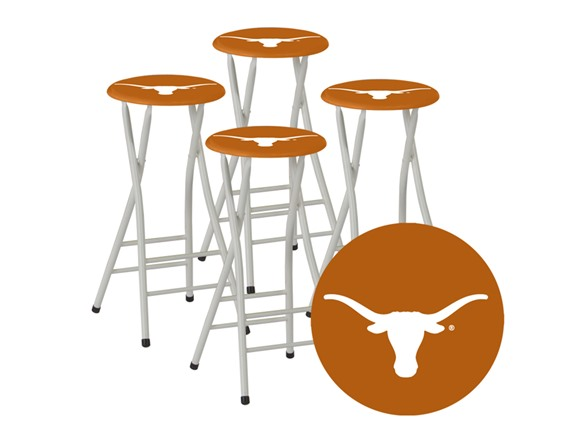 Best Of Times Ncaa Bar Stools Set Of 4