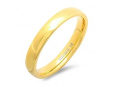 18kt Gold Plated Classic Band Ring