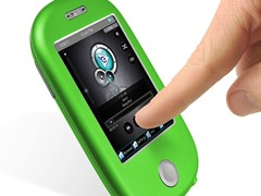 """8GB 3"""" Touch MP3 Video Player - Green"""